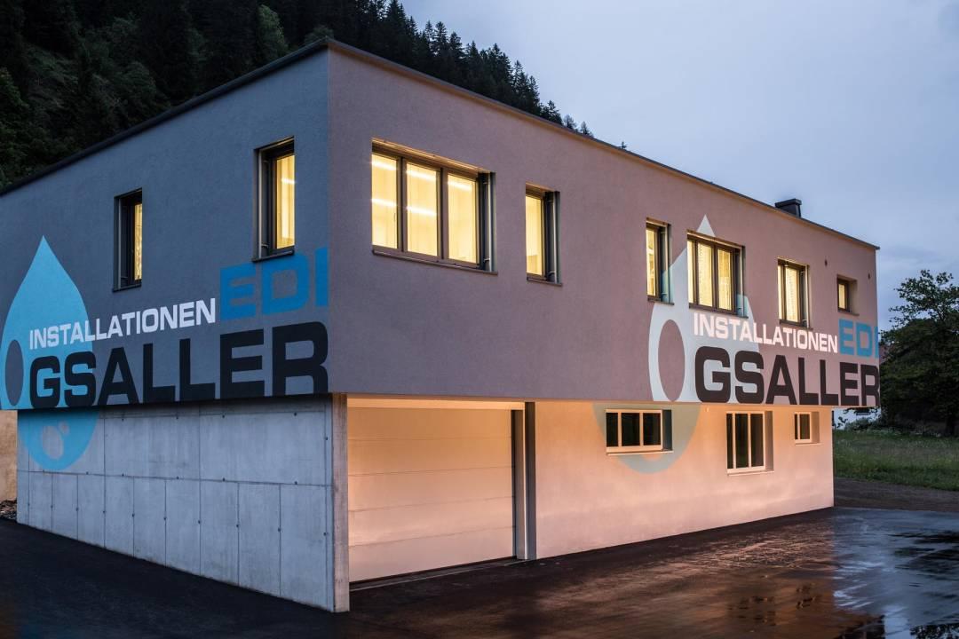 Gsaller Installationen Betriebsgebäude