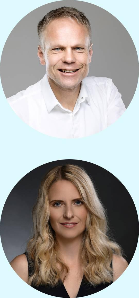 Portraits von Edi und Ingrid Gsaller